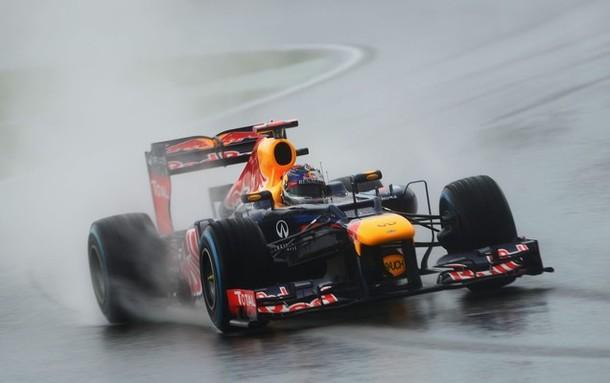 Calificación Alemania 2012: Alonso, rey de la lluvia