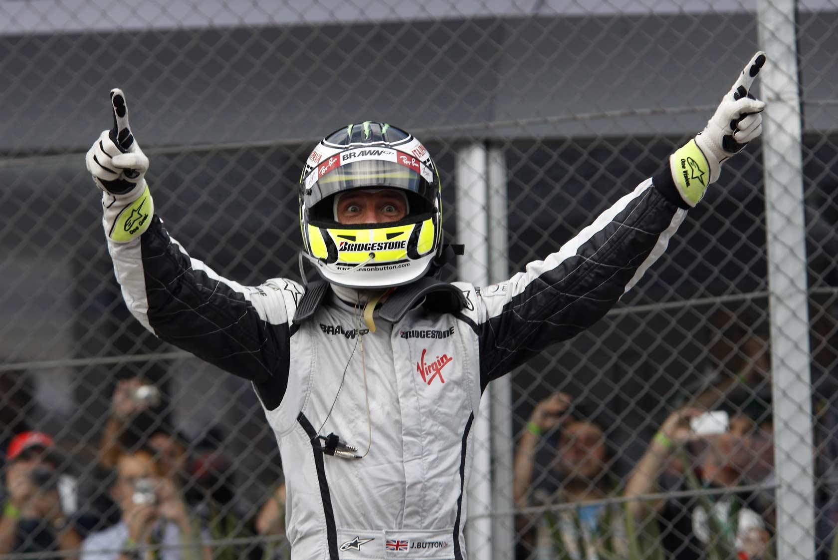 Jenson Button se proclama campeón del mundo del 2009