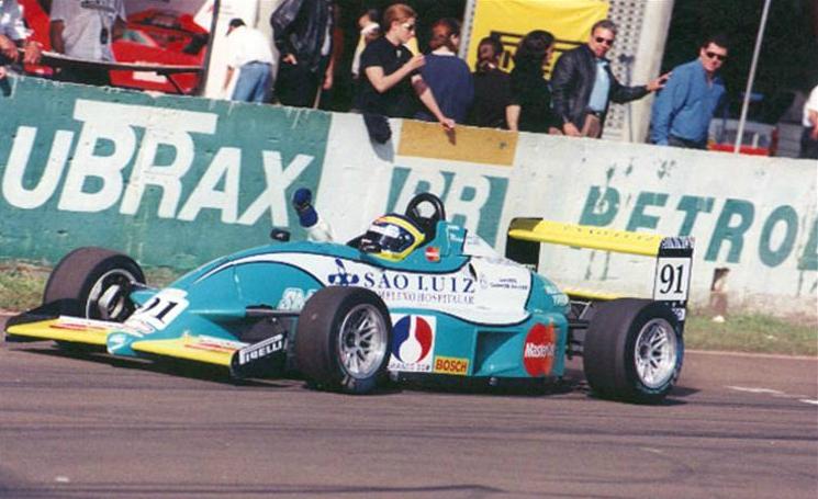 Felipe Massa en la Formula Chevrolet