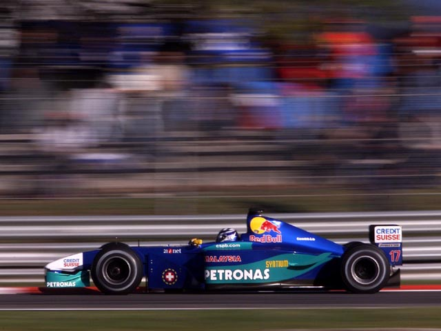 Kimi Raikkonen con el Sauber en 2001