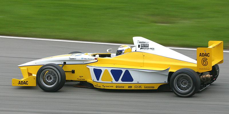 Nico Rosberg en la Formula BMW