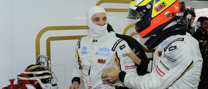 GP Corea 2012 Dani Clos y Pedro de la Rosa Libres