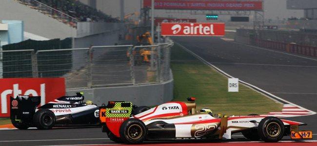 Pedro de la Rosa GP India 2012