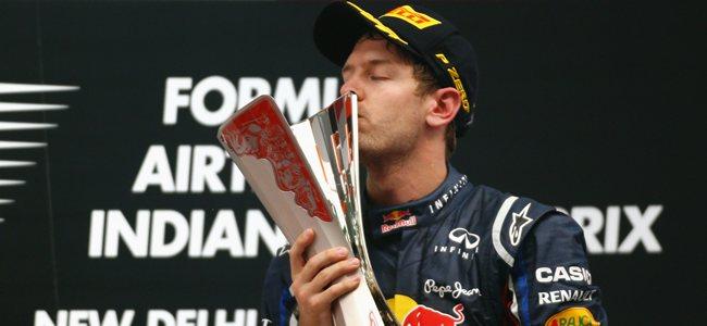 Sebastian Vettel GP India 2012