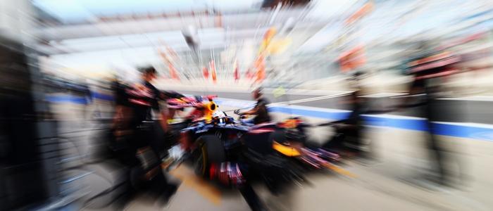 Sebastian Vettel libres GP Corea 2012