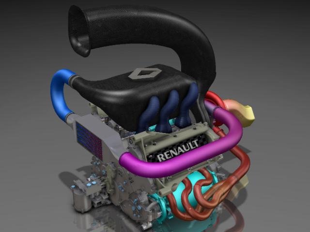 Motor Renault F1 turbo para el 2014
