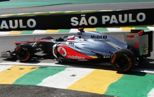 GP de Brasil 2012 - Libres 3: Jenson Button toma el relevo y mantiene a McLaren al frente