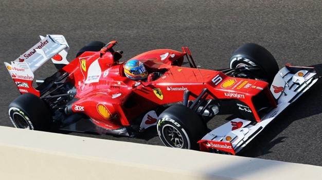 F. Alonso. GP Abu Dabi 2012