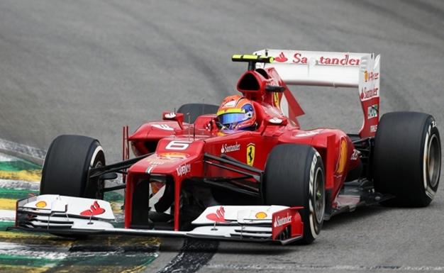 F. Massa. GP Brasil 2012