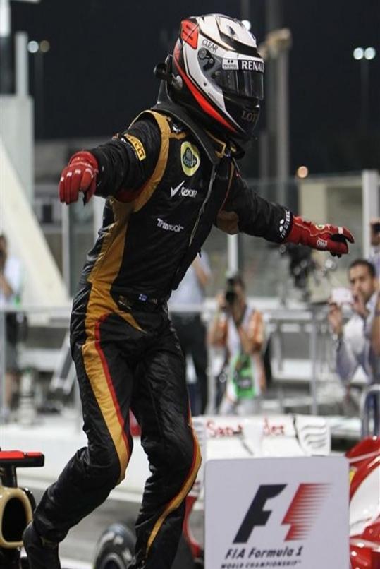 K. Raikkonen vence en Yas Marina. GP Abu Dabi 2012
