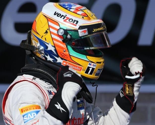 GP de EEUU 2012: Lewis Hamilton, el pistolero más rápido del Oeste