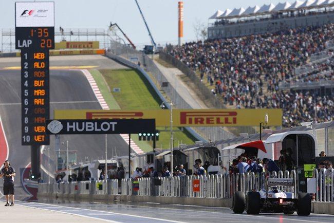 Calificación GP de EEUU 2012: Sebastian Vettel consigue la 'pole position' en Austin