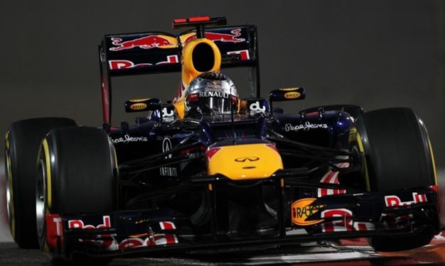 S. Vettel. GP Abu Dabi 2012