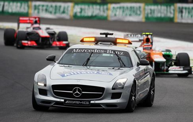 Safety Car. GP Brasil 2012