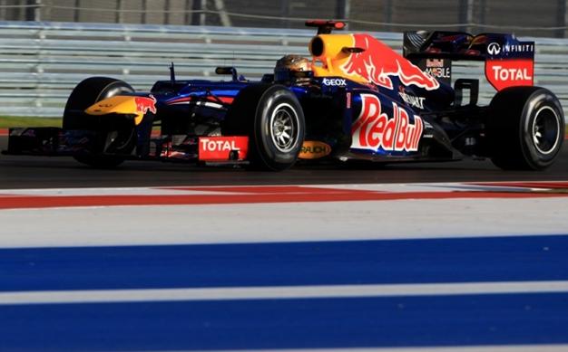 GP de EEUU. Libres-3: Vettel una vez más
