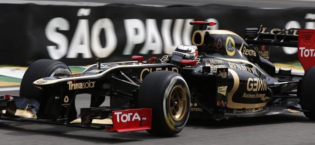 Kimi Räikkönen GP de Brasil 2012