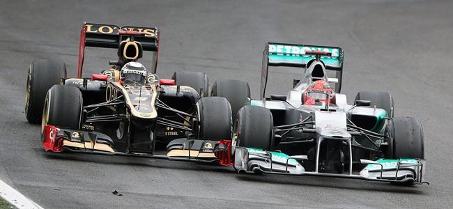 Michael Schumacher, Kimi Räikkönen, Brasil 2012