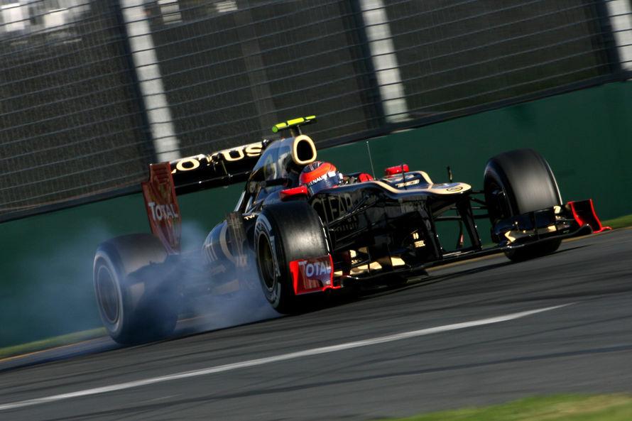 Romain Grosjean en el GP de Australia 2012
