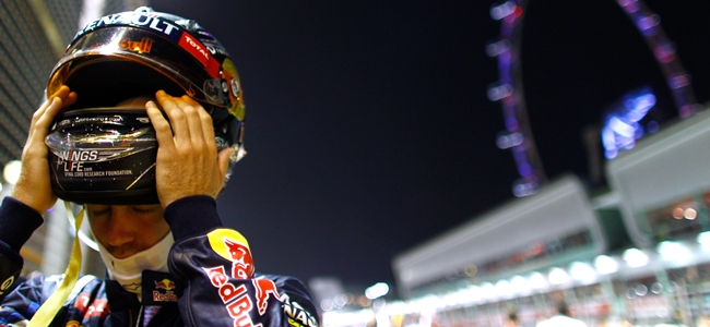 Sebastian Vettel, GP Singapur 2012