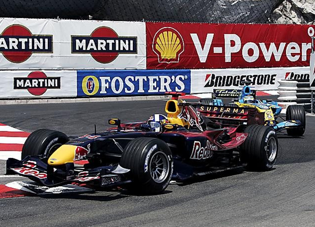 Coulthard, GP Mónaco 2006