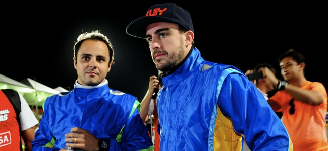 Fernando Alonso, Felipe Masa, Desafio das Estrelas 2013