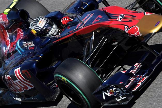 J. Alguersuari. GP Italia 2010