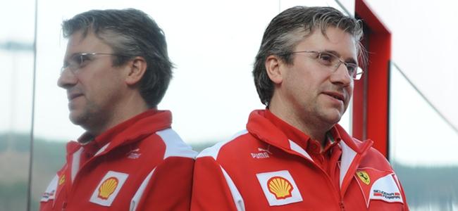 Pat Fry, Ferrari, 2012
