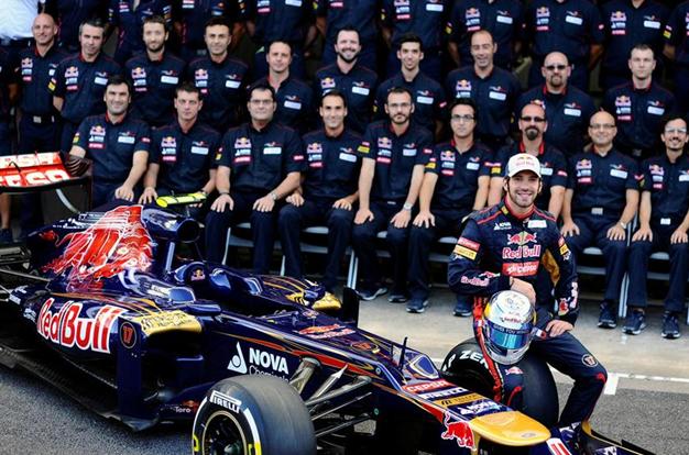 Scuderia Toro Rosso. Brasil 2012