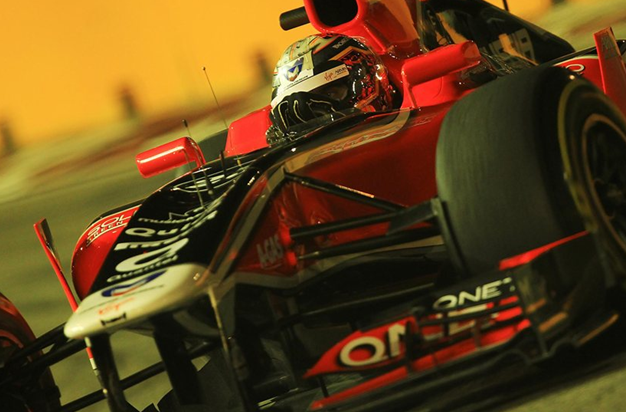 T. Glok, Marussia Virgin Racing. GP Singapur 2011