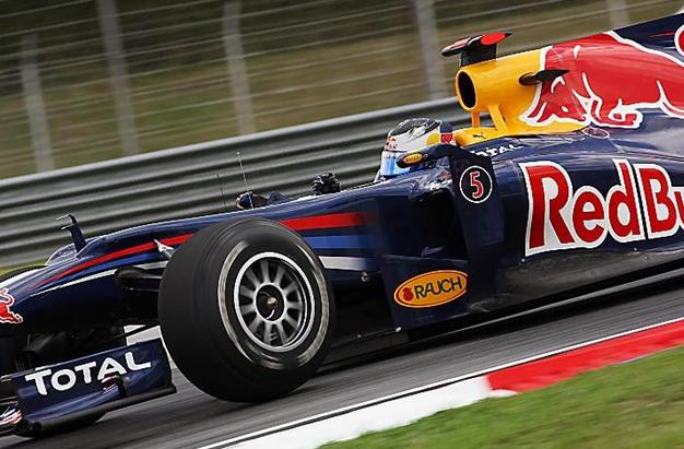 Vettel, GP Malasia 2010