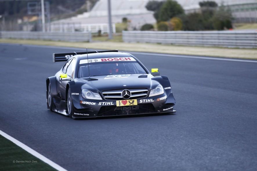 Robert Kubica prueba un DTM en Valencia