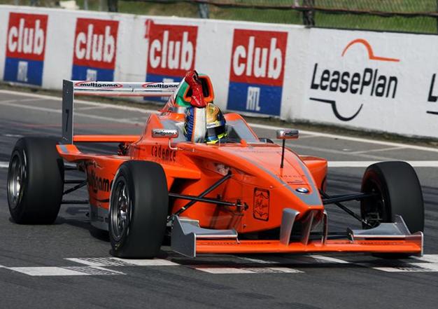 E. Gutiérrez, Formula BMW Europa, Zolder 2008