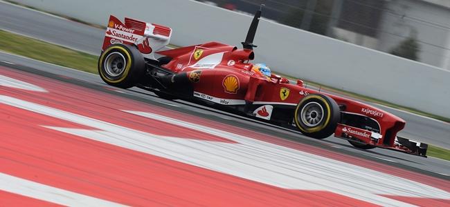 Alineación de pilotos para los terceros test de pretemporada 2013 de F1 en Barcelona