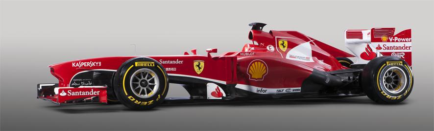 El nuevo Ferrari F138 de Fernando Alonso ve la luz en Maranello