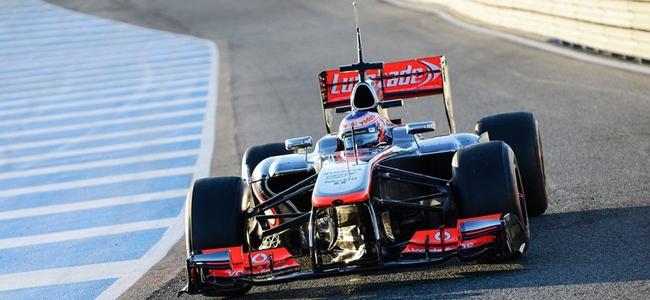 Jenson Button, Jerez 2013