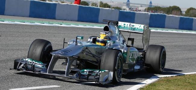 Lewis Hamilton, Jerez 2013