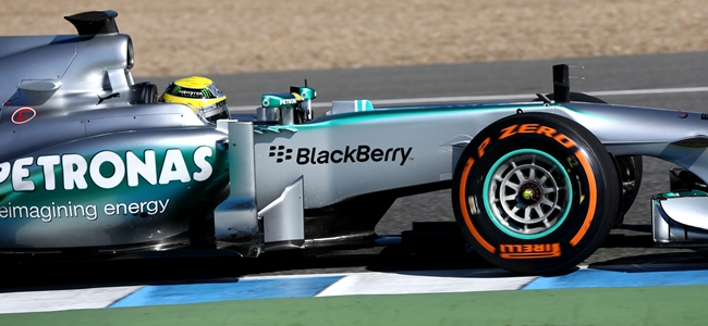 Nico Rosberg, Jerez 2013