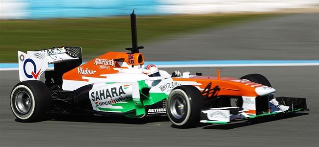 Paul di Resta, Jerez 2013