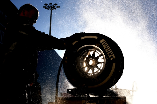 Pirelli, Jerez 2013