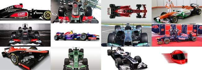 Un repaso a todas las presentaciones de los monoplazas de Fórmula 1 de 2013