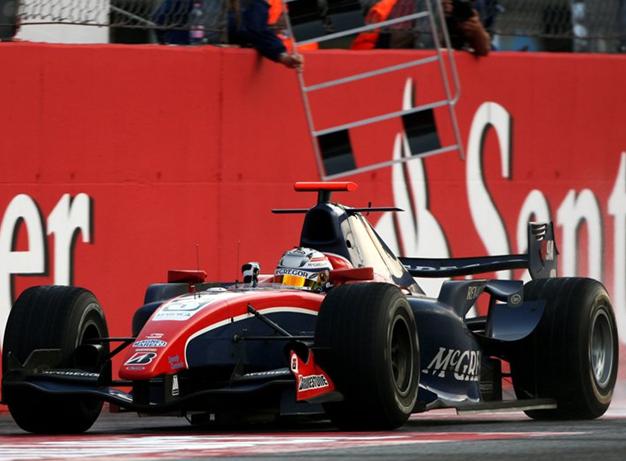 Triunfo en Monza, GP2 2009