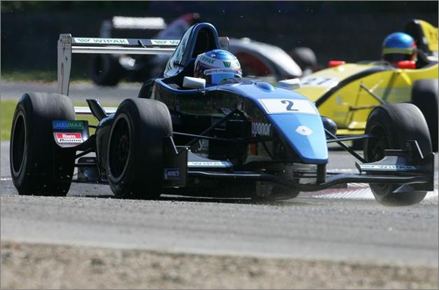 V. Bottas, Korainen Bros. Motorsport. NEC Fórmula Renault 2.0. Zolder 2007