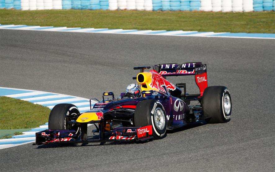 Vettel Jerez dia 3