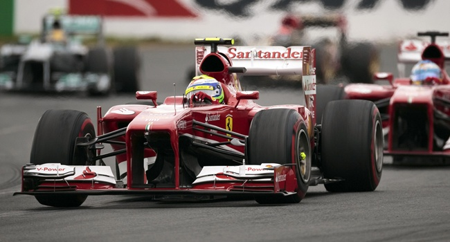 Felipe Massa durante el GP de Australia 2013