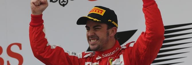 Fernando Alonso, GP India 2013, Victoria