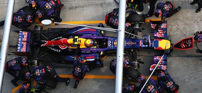 Mark Webber, pit stop F1, Malaysian GP 2013