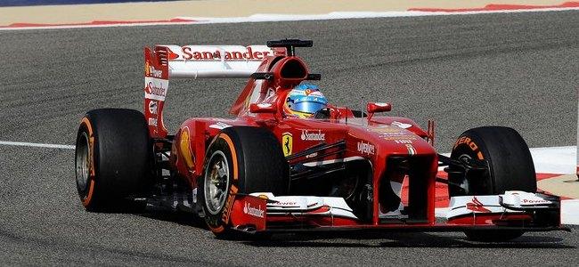 Fernando Alonso, Ferrari, GP Baréin 2013