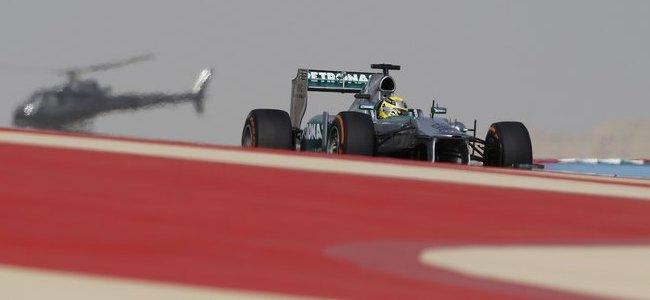 Nico Rosberg, Mercedes, GP baréin 2013