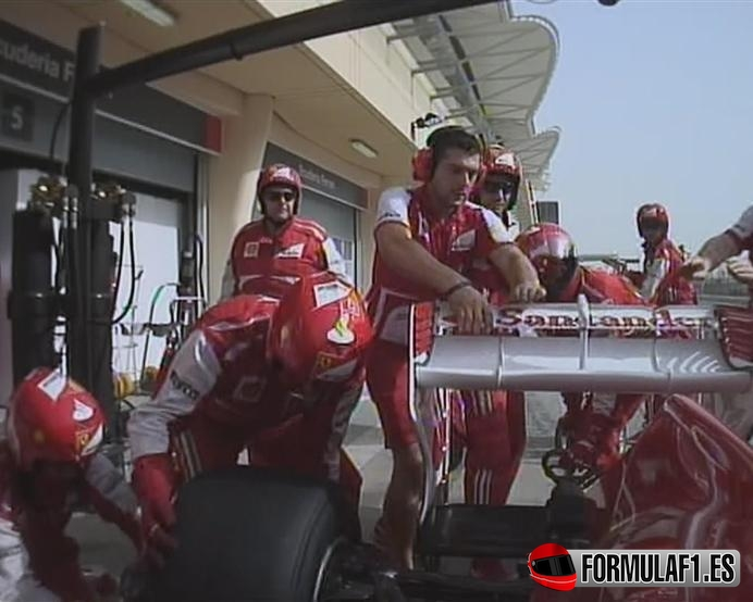 ¿Qué pasó con el DRS del Ferrari de Fernando Alonso?