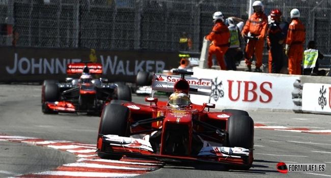 Fernando Alonso en Mónaco 2013